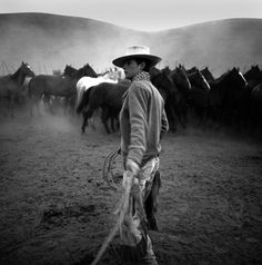 There is something about...cowboys  |  image:  Adam Jahiel