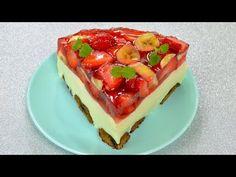 Jogurtowiec z owocami bez pieczenia - Jak zrobić pysznego jogurtowca -Smakowite Dania - - YouTube