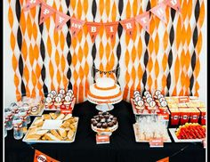 "SF Giants Theme Party / Birthday ""Baseball Birthday Party"" 