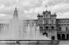 Plaza De Espana - Seville - Spain