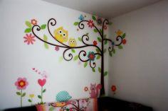 Cómo Decorar el Dormitorio de Niñas para que se vea como una princesa con pegatinas para Pared : Decorar Casa y Hogar