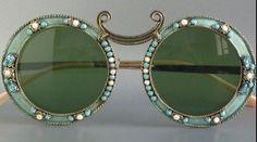 """Christian Dior 1969 """"Calypso"""" Sunglasses.  Divine!"""