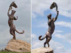 """Reach for the Sky"" - sculpture by ROSETTA"
