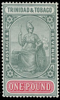 Trinidad and Tobago Stamp. More about stamps: http://sammler.com/stamps/