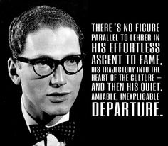 This guy. Tom Lehrer, comedy's mysterious genius.