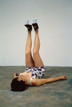 Erwin Wurm, One Minute Sculptures,1997