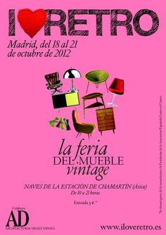 2ª Feria Vintage en Madrid: I Love Retro