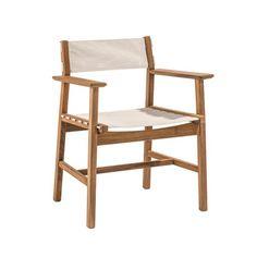 Djuro Armchair - Teak and Fabric