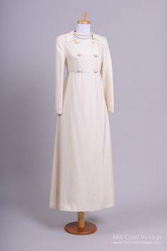 1960 Lord and Taylor Vintage Wedding Coat : Mill Crest Vintage