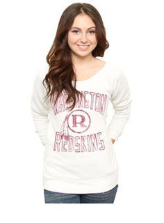 Ladies Redskins Sweatshirt. It would be so awesome to win this :) #valentinesgiveaway #redskinsdotcom #HTTR