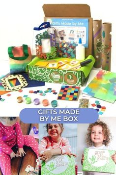 We know how much kids love making gifts for their loved ones, especially during the holidays, so we thought we would make it easy for you. This box will supply your child with SIX great creative activities they can make and give as keepsake gifts to their favorite people. Includes the following projects: Framed Ornament, Mosaic Coaster, Tie Dye Bag, Artist Canvas, and Homemade Wrapping Paper. With this box, your child will unlock their creative potential and create one-of-a-kind gifts.