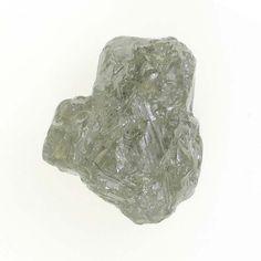 Amazing Silver Color 1.00 Ct Loose Uncut Rough Natural Diamond