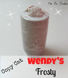 copy-cat wendys frosty recipe