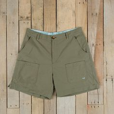 Southern Marsh Tarpon Flats Fishing Short in Stonewall Olive Fishing Shorts, Southern Marsh, Low Country, Flats, My Style, Stuff To Buy, Shopping, Collection, Fashion
