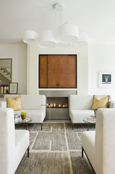 Logan Circle Modern - modern - living room - dc metro - JD Ireland Interior Architecture + Design