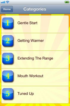The Absolute Beginner's Guide to Singing Apps Voice Therapy, Speech Therapy, Speech Language Pathology, Speech And Language, How To Get Warm, Good Music, The Voice, Singing, Apps