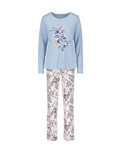 Food, Home, Clothing & General Merchandise available online! Cotton Pyjamas, Lingerie Sleepwear, Printed Cotton, Long Sleeve Tees, Pajama Pants, Model, Sleeves, How To Wear