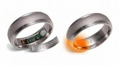 This ring heats up to 120 degrees Fahrenheit the day before an anniversary so it's impossible to forget