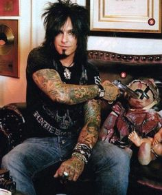 Nikki Sixx was voted by Reader`s Choice Awards in Metal Edge magazine Best bassist in Rock N Roll, Heavy Metal, Motley Crue Nikki Sixx, Sixx Am, Shout At The Devil, 80s Hair Bands, Vince Neil, Glam Metal, Tommy Lee