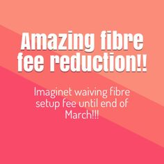"""Imaginet is offering a reduction on fibre for a limited time. The setup fee of R2500 for fibre is waived for the rest of this month and the month of March. Take advantage of this offer while it lasts!!!! Go to our fibre page now.  Why do I need Fibre? It's the new online buzz word… """"Fibre""""… and there is good reason it's taking South Africa by storm. We use the internet more than ever before and we want ..."""