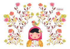 Stohne Illustration - Spanish Bandanna placemat By Audrey Lisik