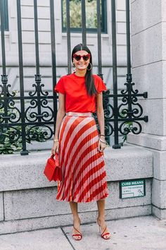Giovanna Battaglia new york fashion week 2017 New York Fashion Week Street Style, Street Styles, Giovanna Battaglia, Look Fashion, Fashion Outfits, Fashion Trends, Fashion Editor, Milan Fashion, Street Style