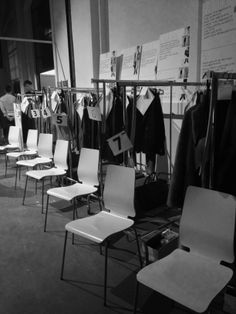 Canali AW14 fashion show #backstage