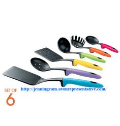 Colorful Kitchen Tool Set  325-069 Reg. $24.99 Cook with cooler!