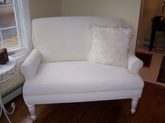 How to paint fabric upholstery