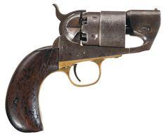 "Colt Model 1860 Army ""Belly Gun"" Percussion Revolver"