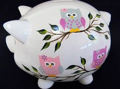 Piggy bankpersonalized piggy bankpainted piggy bank with
