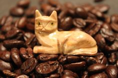 This is a kitty given to me by my son's friend, Katie, as a token reminder of all the pinning I have done. I Love It.