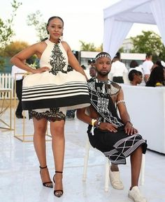 Do you want to craft SOUTH AFRICA XHOSA DRESSES from your modern fabric and don't have an idea of where to start or what to make? African Fashion Skirts, African Prom Dresses, South African Fashion, African Wedding Dress, African Print Fashion, Wedding Dresses, Xhosa Attire, African Attire, African Wear