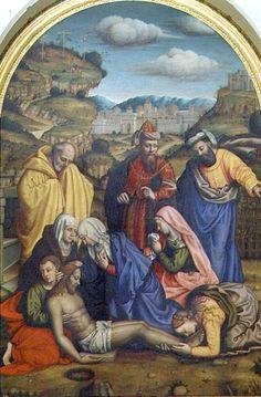 Lamentation with Saints - Plautilla Nelli