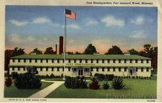 Ft. Leonard Wood, Missouri (6 months of Basic Training & AIT in 2006)