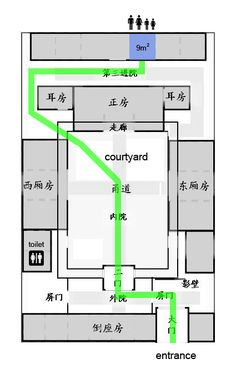 Siheyuan traditional Chinese courtyard house - Google Search