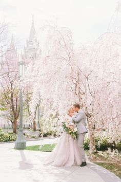 Modest wedding dress by Hayley Paige .