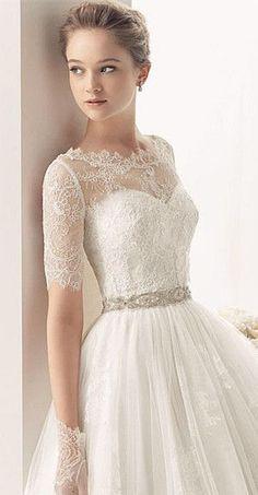parte de arriba del wedding dress