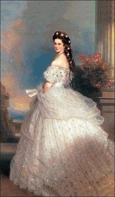 Empress Elisabeth by Franz Winterhalter - 1865