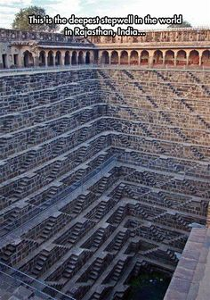 The Deepest Stepwell