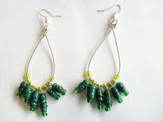 Paper earrings - Pixierust