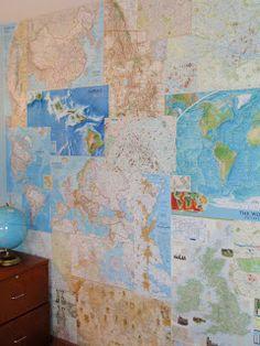 elsie's girl: my map wall
