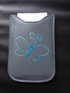 Phonepouch with butterfly