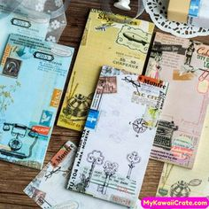 Notebooks New Cartoon Small Pocketbook Spiral Notebook Mini Portable Week Planner Diary Notepad Stationery School Supplies 80 Page To Have A Unique National Style Office & School Supplies