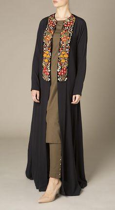 Shop the latest modest fashion Abaya Fashion, Muslim Fashion, Modest Fashion, Fashion Dresses, Abaya Designs, Kurti Designs Party Wear, Blouse Designs, Simple Pakistani Dresses, Pakistani Dress Design