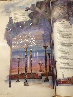 Vintage Grace: The St. John's Bible- Seven Pillars of Wisdom / Proverbs 9:13-11:5