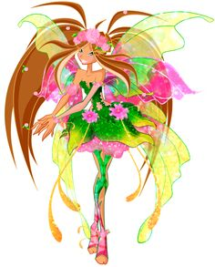 winx club flora | Winx Flora ( GuardiX) 2013 by CostantStyle