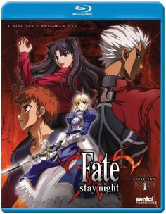 Fate/Stay Night Blu-ray Collection 1 (Hyb)#RightStuf2013
