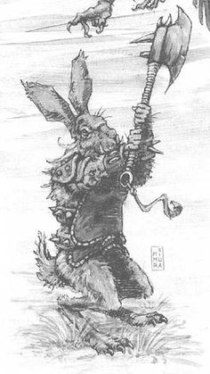 Gamma World: Another reason for Jared to do way too much research concerning Mutant Bunnies.