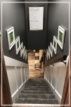 The best and worst basement stair ideas photos. The best solution may vary based on the surface you currently have. But,there are really only 2 good solutions stairs 16 Amazing Basement Stair Ideas to Make Your Basement Stair Awesome Basement Makeover, Basement Renovations, Home Renovation, Home Remodeling, Basement Remodel Diy, Staircase Makeover, Kitchen Remodeling, Drop Ceiling Makeover, Kitchen Reno